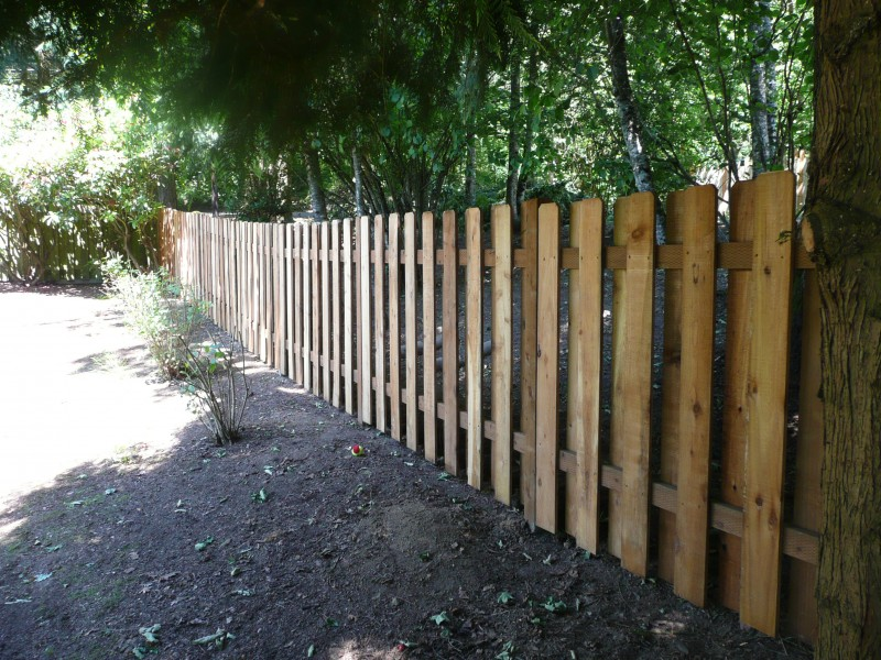 Image of: Good Neighbor Fence Ideas
