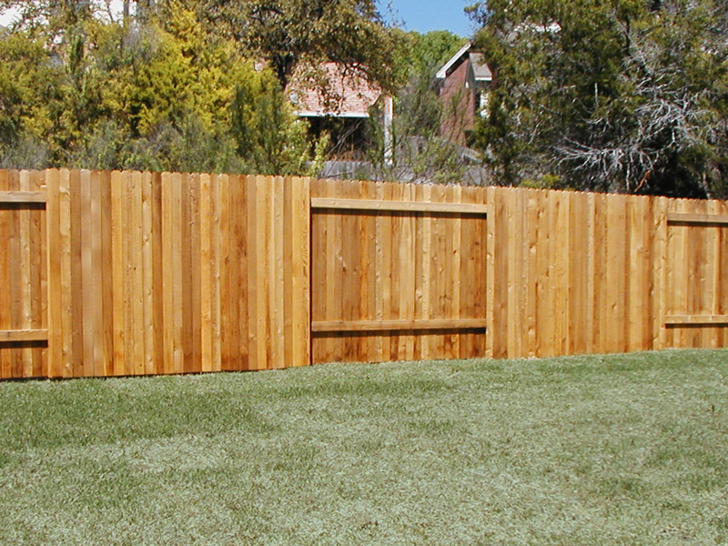 Image of: Good Neighbor Fence Plans