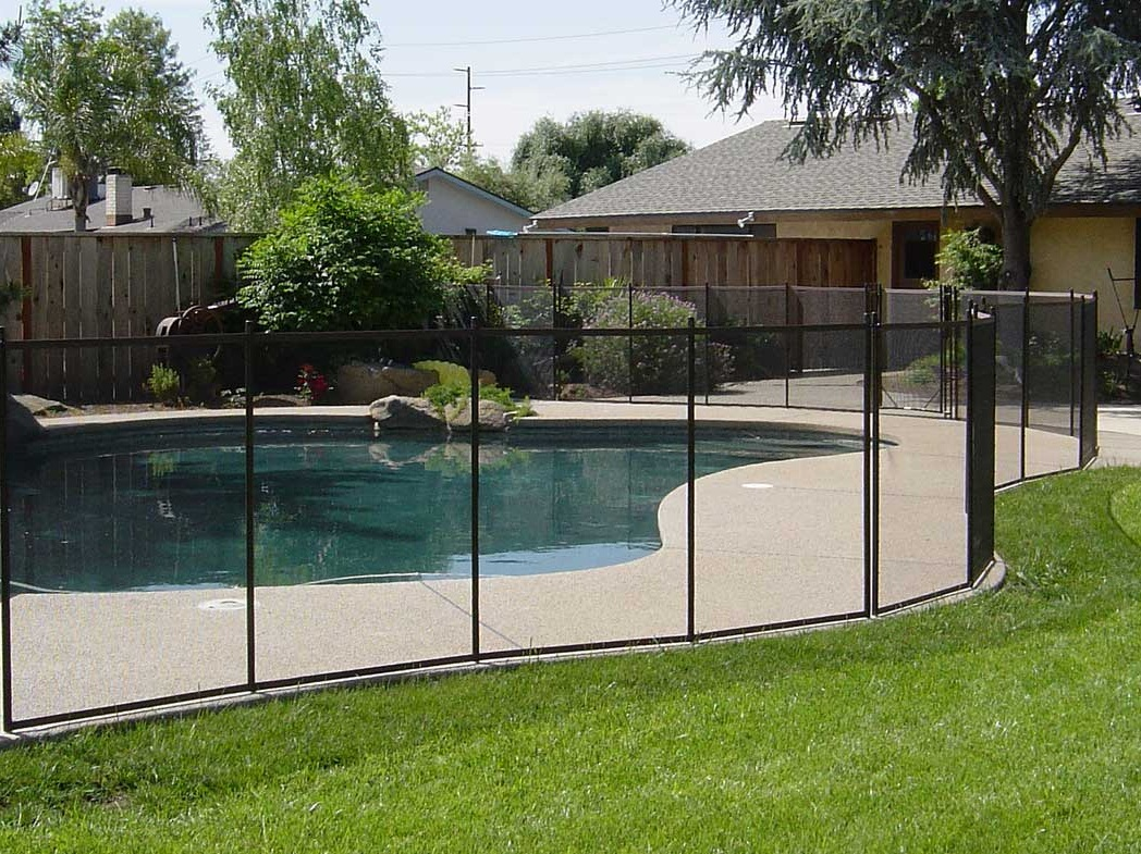 Image of: Good Pool Fencing Ideas