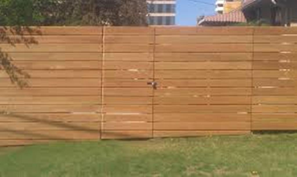 Horizontal Fence Plans Dogeared Overlapped
