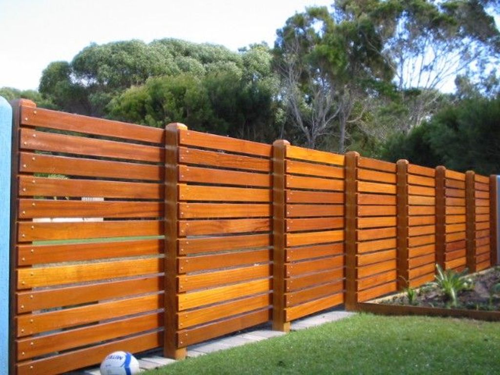 Horizontal Fence Plans Tongue And Groove