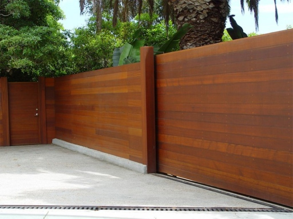 Image of: Horizontal Fence Plans for Wood Rail Fence