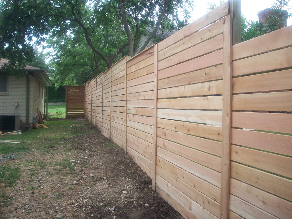 Horizontal Fence Plans to Build
