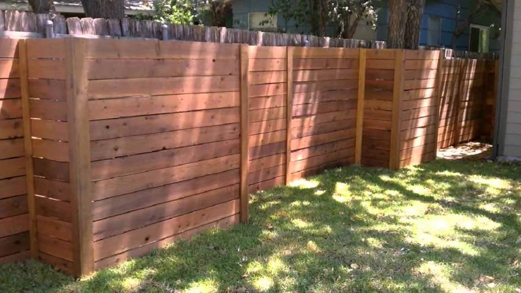 Image of: Horizontal Fence Plans to Purchase