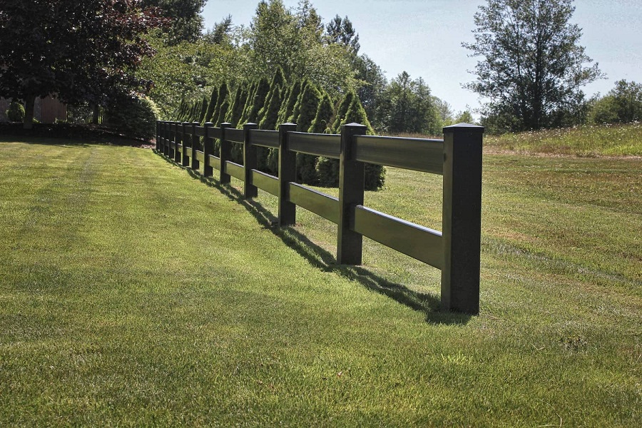Image of: Horse Fence Black