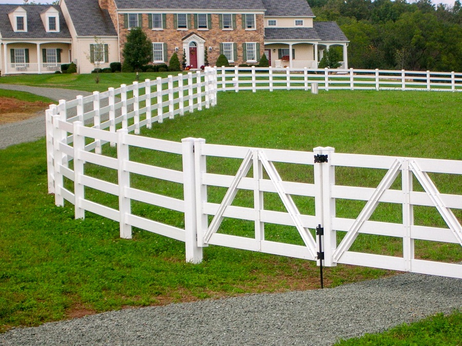 Image of: Horse Fence Wood