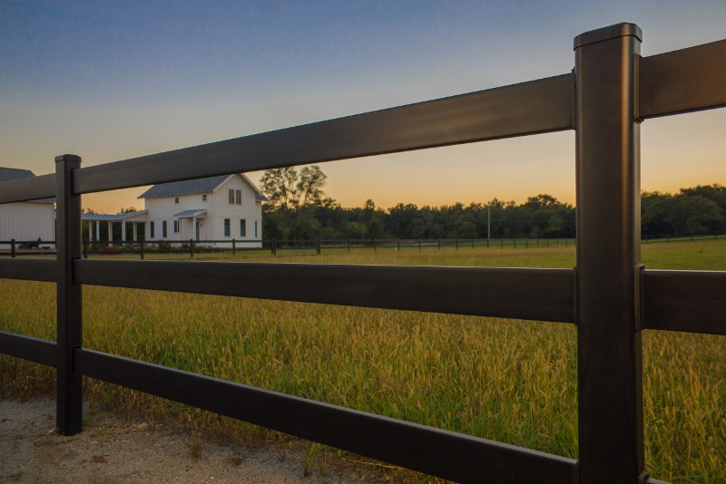Image of: Horse Fence Wooden
