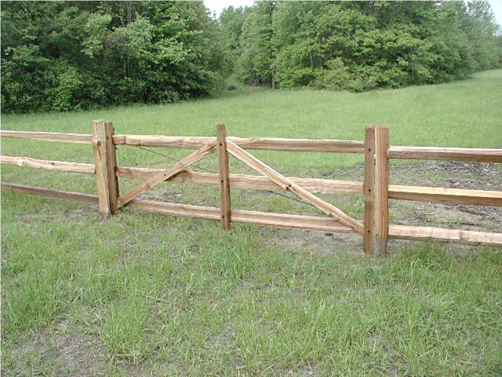 Image of: How to Build a Wood Fence Door