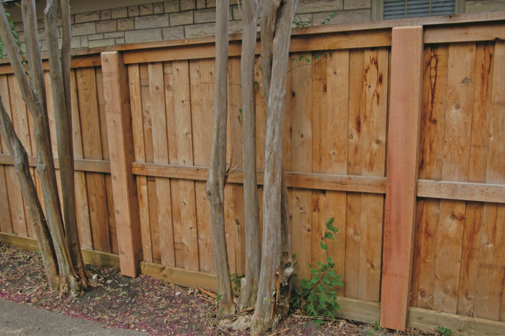 Image of: How to Build a Wood Fence Gate