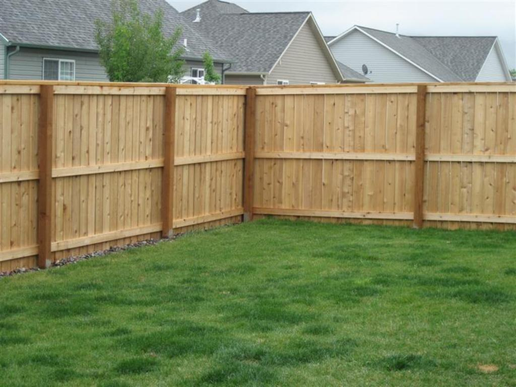 Image of: How to Build a Wood Fence Panel