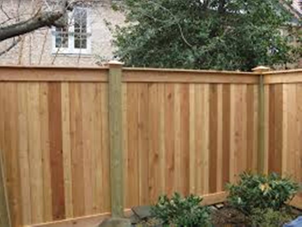 Image of: How to Build a Wood Fence for Horses