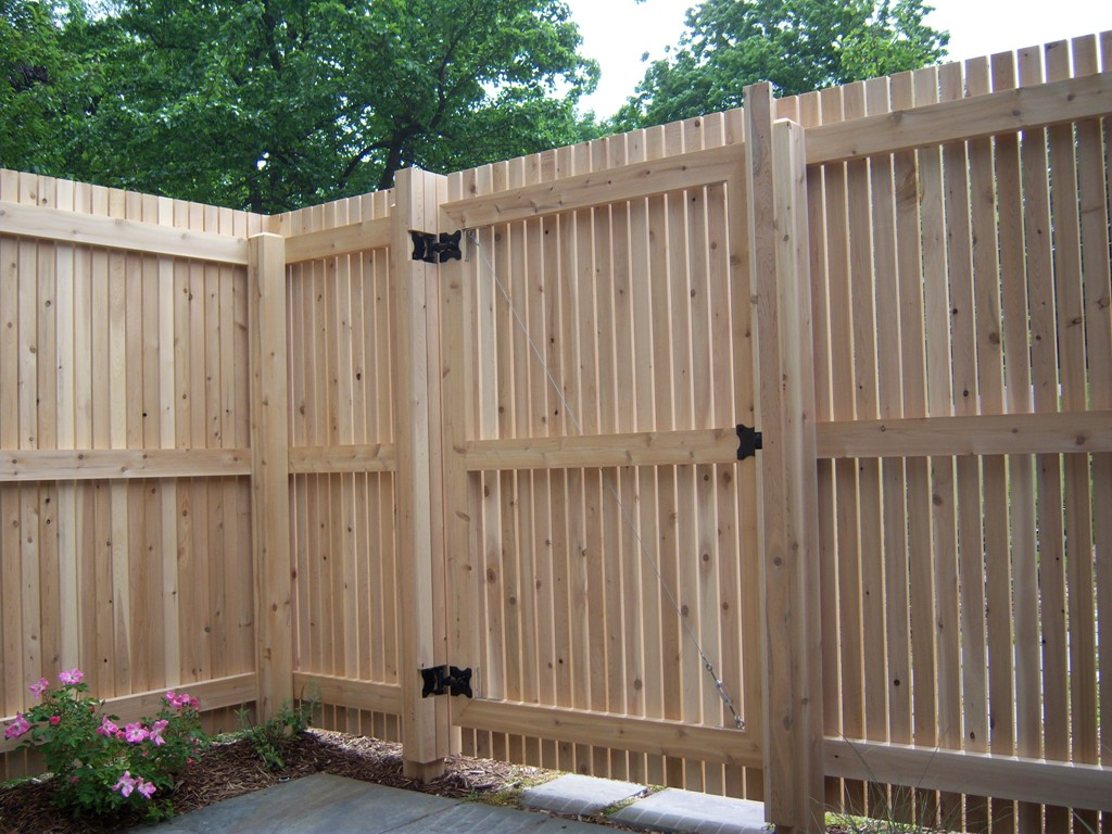 How to Build a Wood Fence Panel
