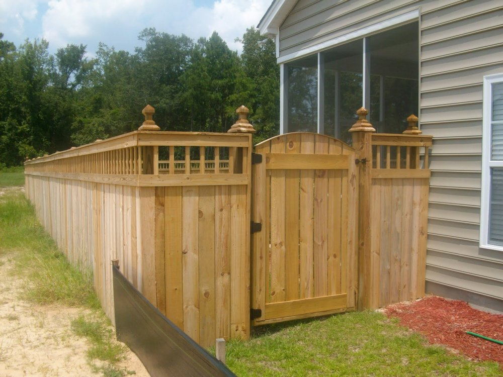 Idea How To Build A Fence Gate