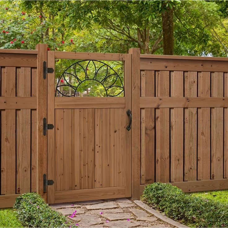 Image of: Ideas How To Build A Fence Gate