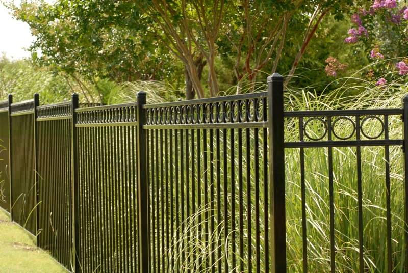 Iron Fence Panels Designs