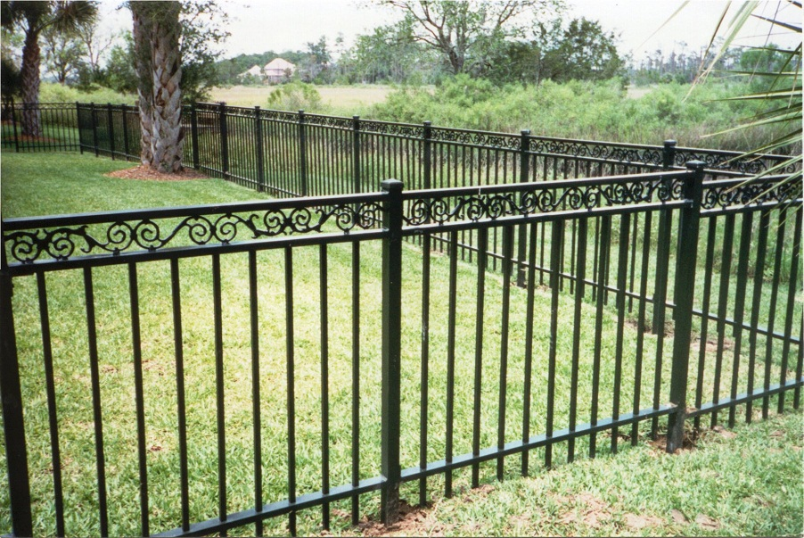 Iron Fence Panels Install