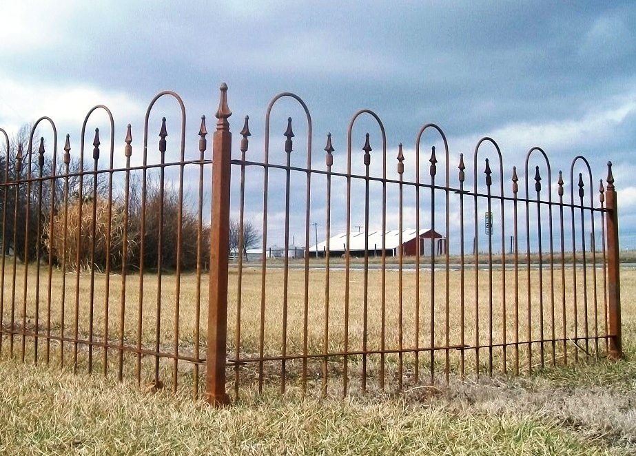 Image of: Iron Fence Pictures