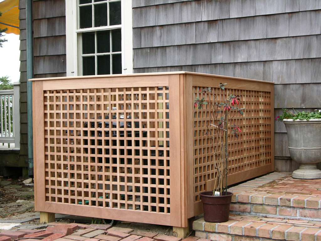 Image of: Lattice Fence Designs