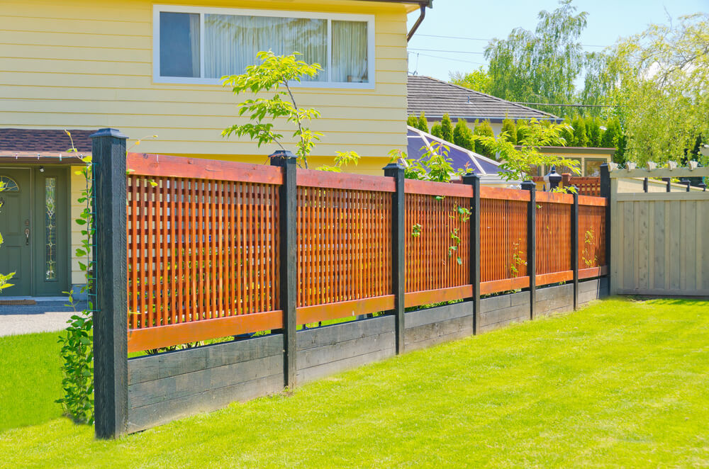 Lattice Fence Plan