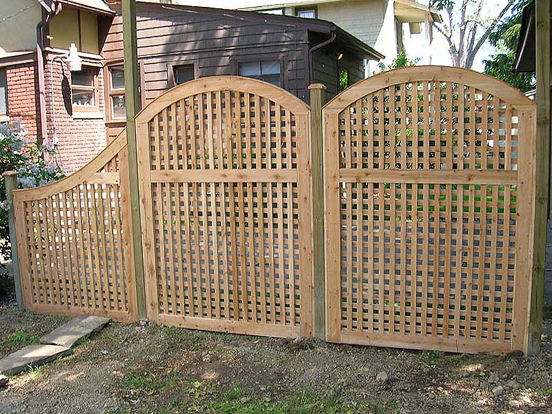 Image of: Lattice Fencing Panels at Home Depot