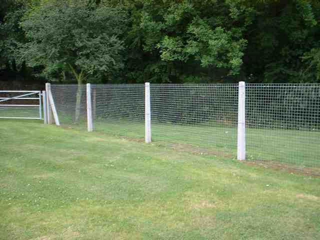 Image of: Mesh Fencing Barrier