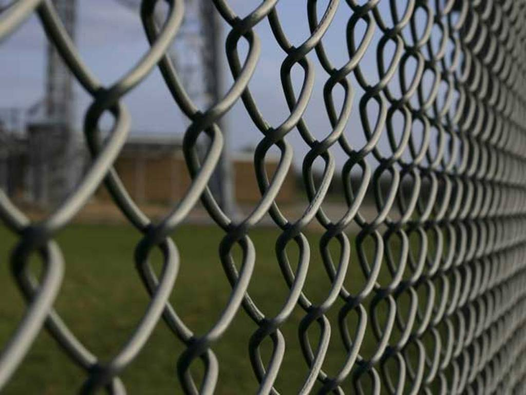 Image of: Mesh Fencing Material