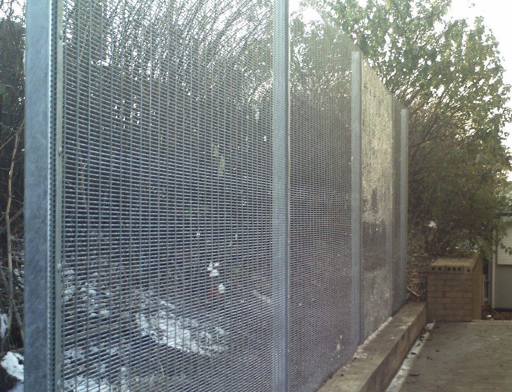 Image of: Mesh Fencing Panels