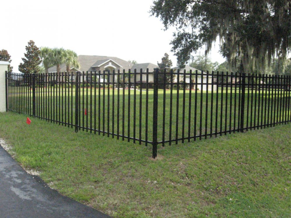 Image of: Metal Fences Ideas
