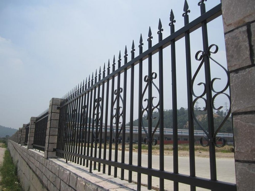 Image of: Metal Fences Model