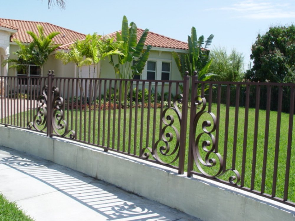 Image of: Metal Fences Pictures
