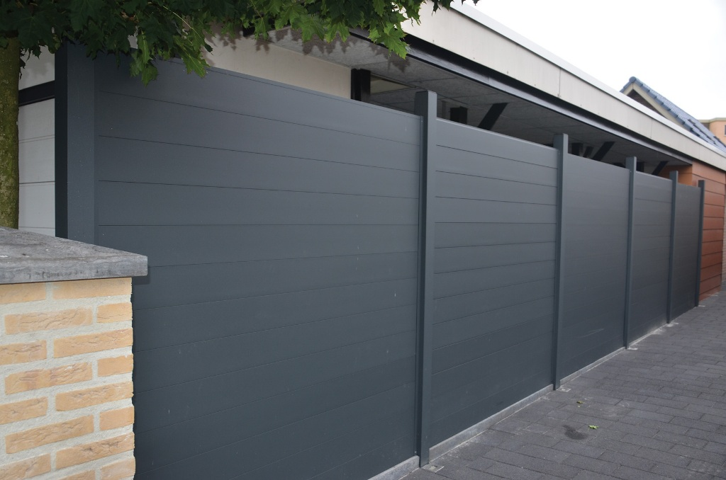 Minimalist Composite Fence Panels