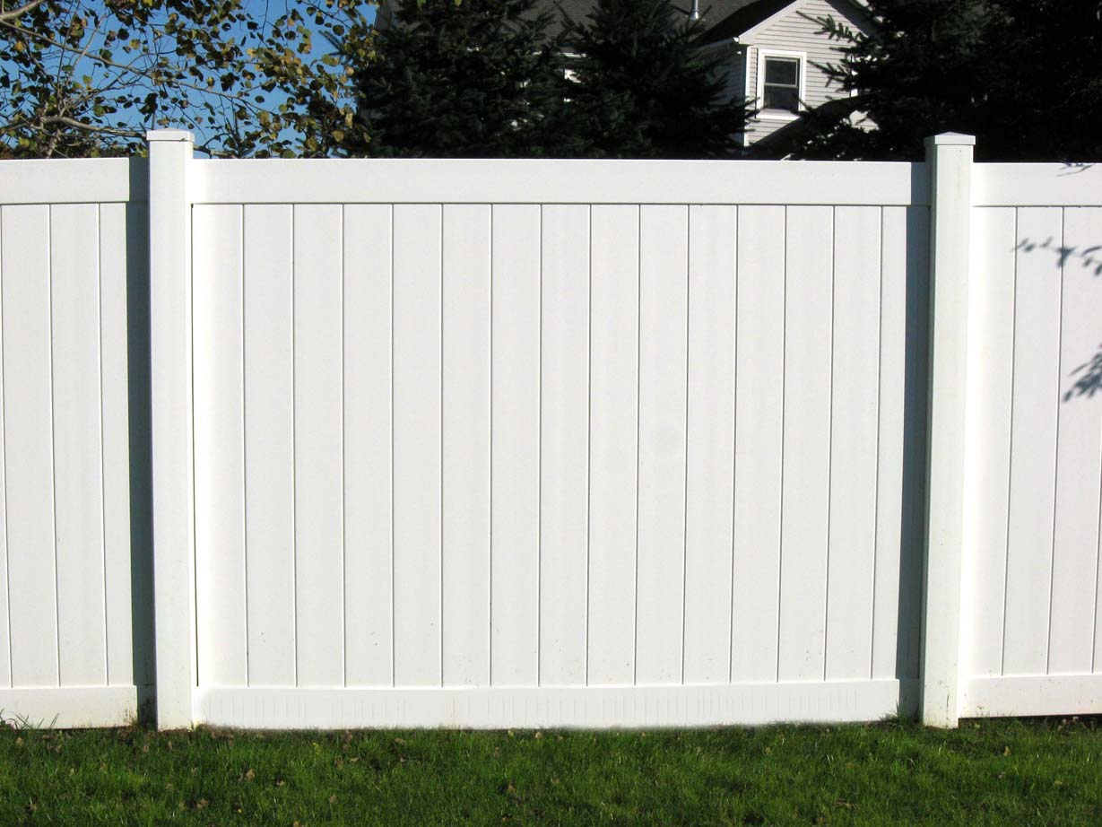 Image of: Plastic Fence Design