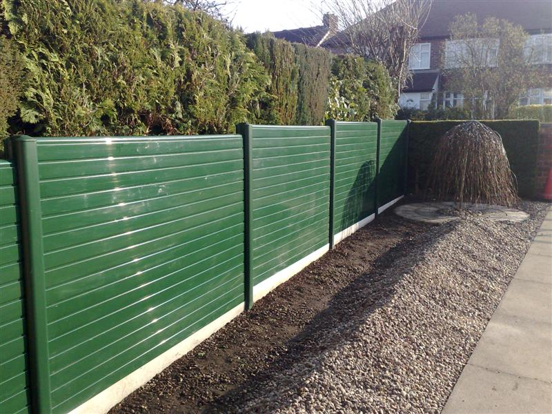 Image of: Plastic Fence Panels Home