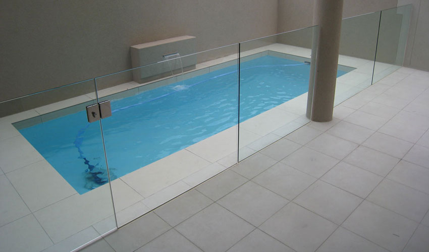 Image of: Pool Fence Designs