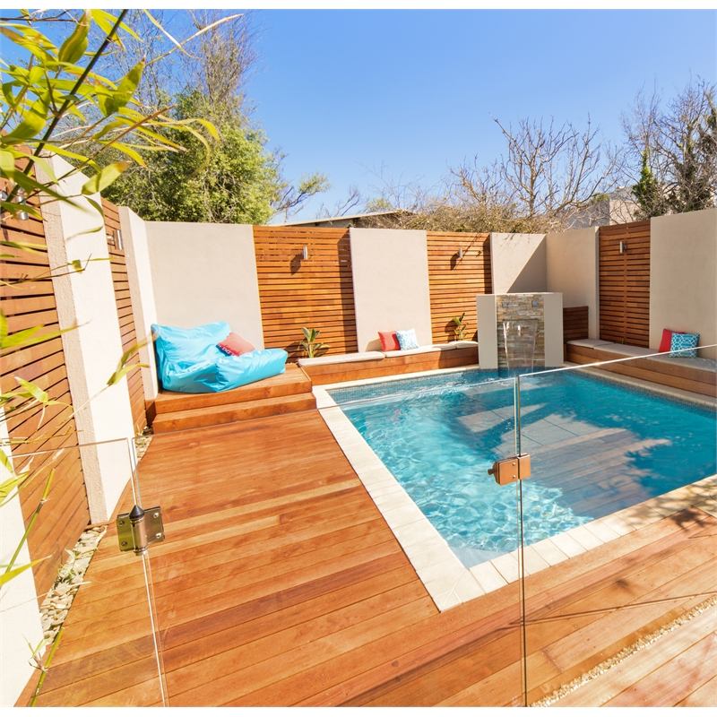 Image of: Pool Fence Panels