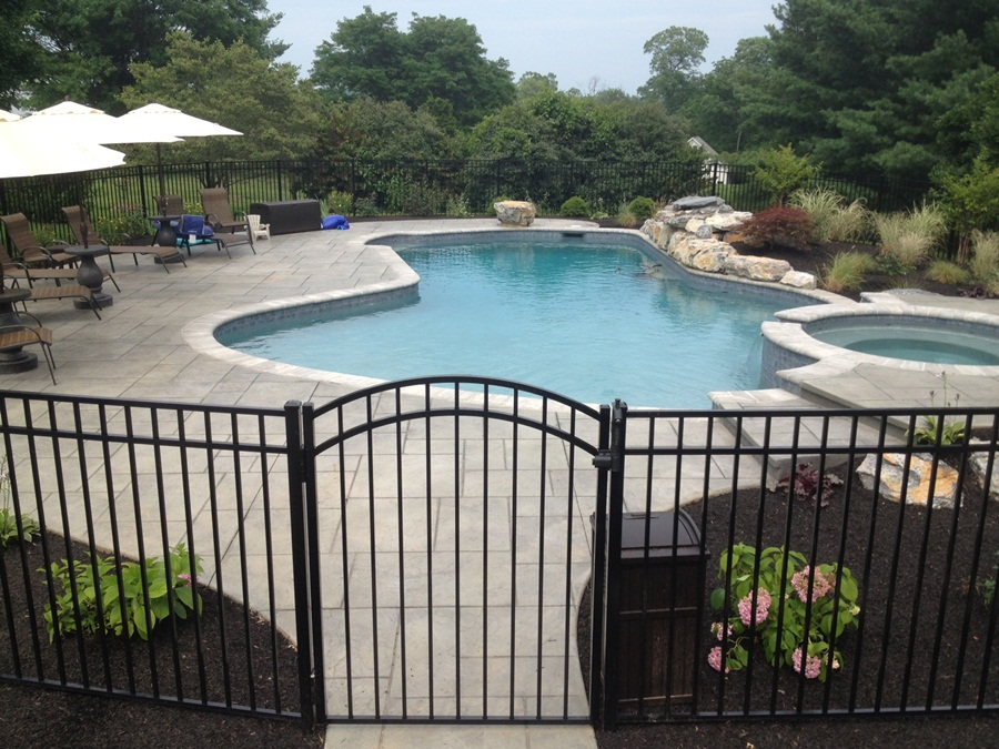 Image of: Pool Fencing Ideas