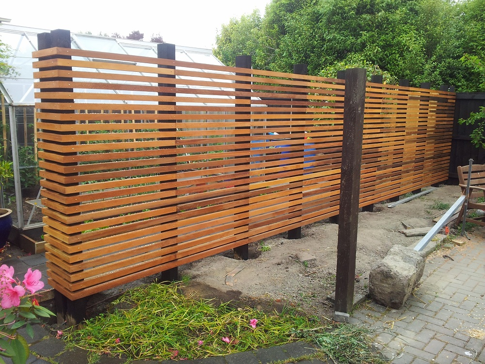 Image of: Popular Cheap Privacy Fence
