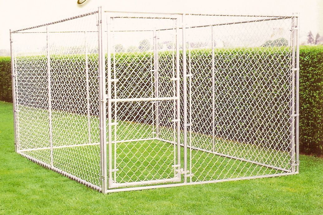 Image of: Portable Dog Fence Garden