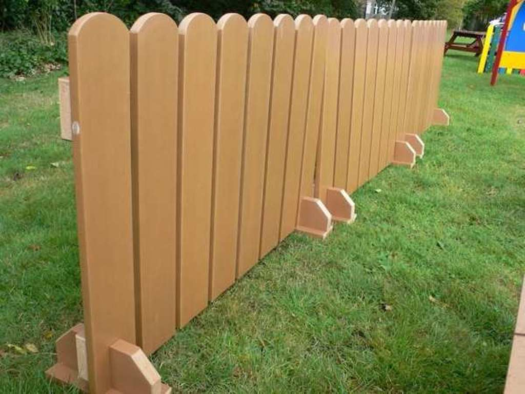 Image of: Portable Dog Fence Panels