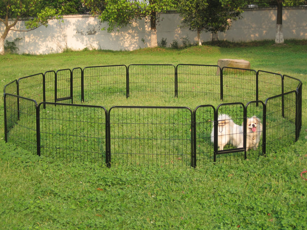 Image of: Portable Dog Fence Round