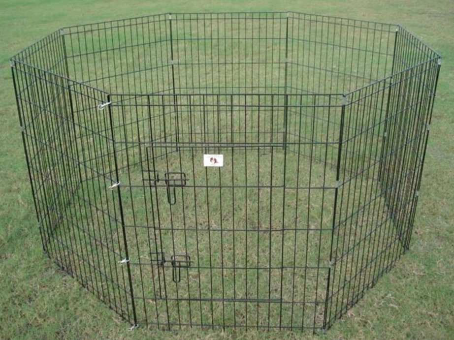 Image of: Portable Dog Fence Shapes