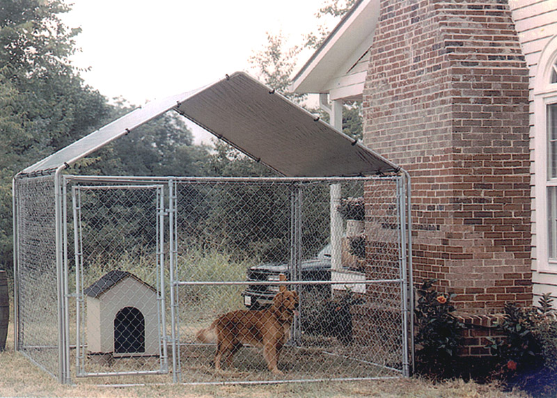 Image of: Portable Dog Fence Yard