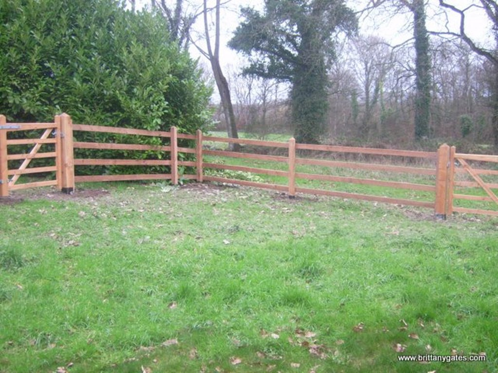 Post and Rail Fence Designs