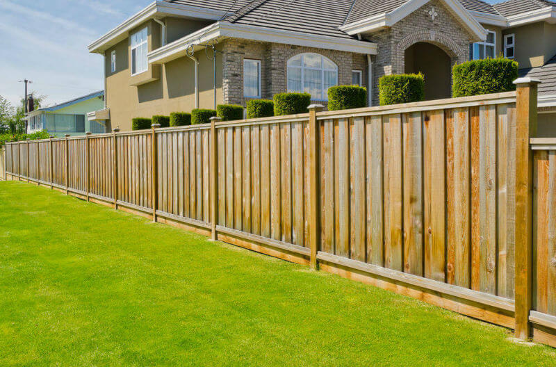 Image of: Privacy Fence Ideas Home