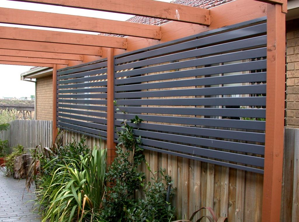 Image of: Privacy Fence Screen Mesh