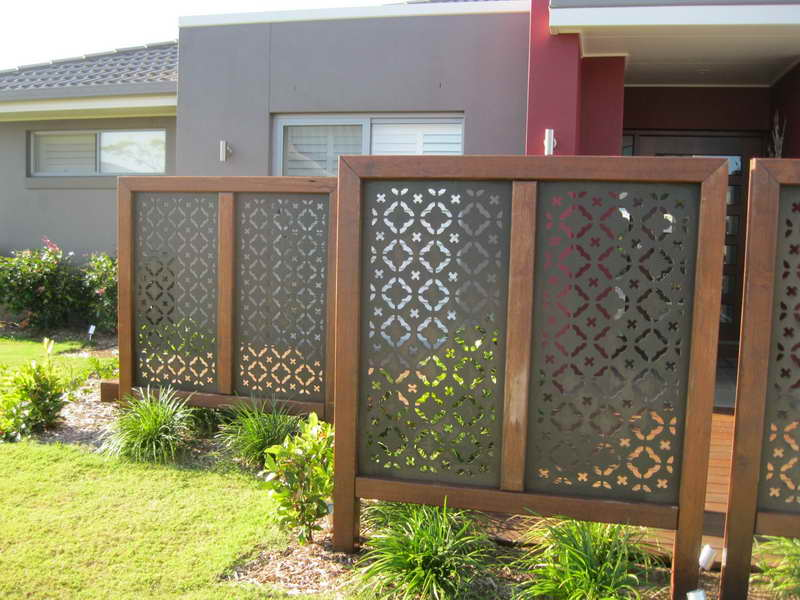 Image of: Privacy Fence Screen Patio