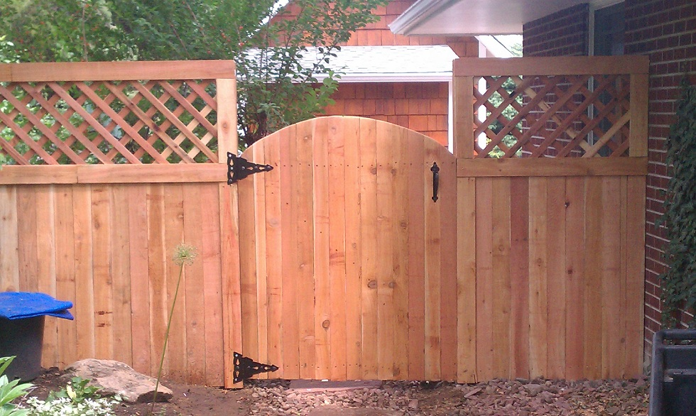 Image of: Repair How To Build A Fence Gate