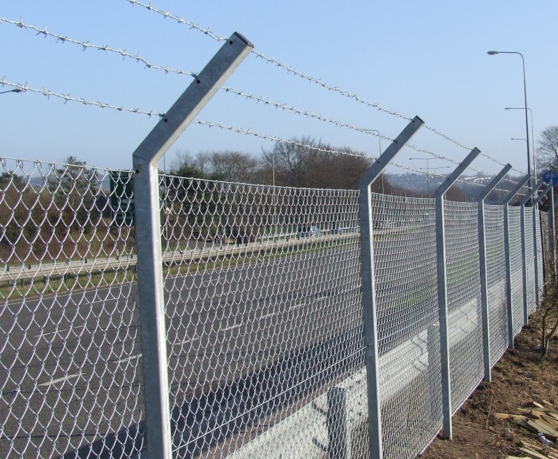 Image of: Safety Chain Link Fencing