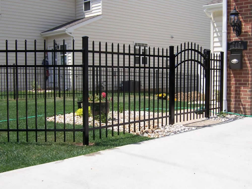 Image of: Security Metal Fences