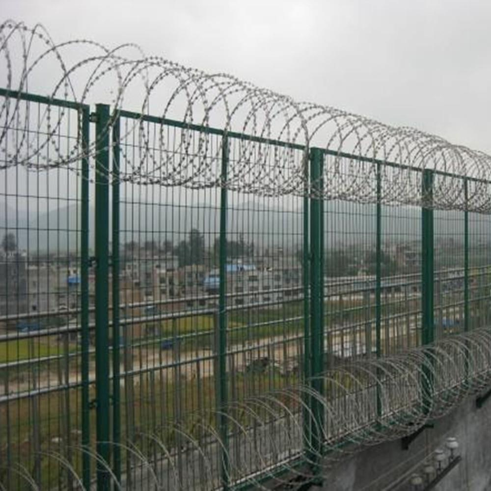 Setting Barbed Wire Fence